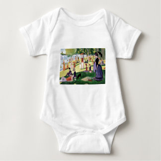 A Sunday Afternoon On The Island Of La Grande Jatt Baby Bodysuit