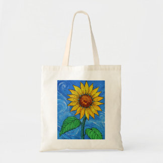 A Sunflower Budget Tote