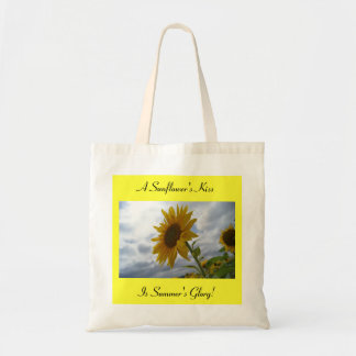 A Sunflower s Kiss Tote Bag