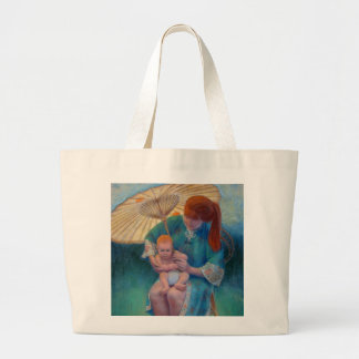 A Sunny Day Parasol Jumbo Tote Bag