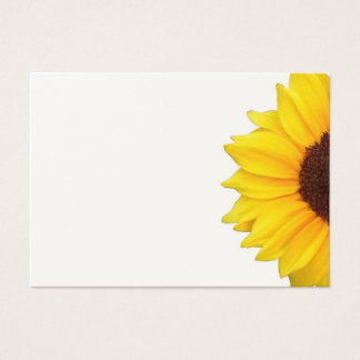 A Sunny Sunflower Business Card