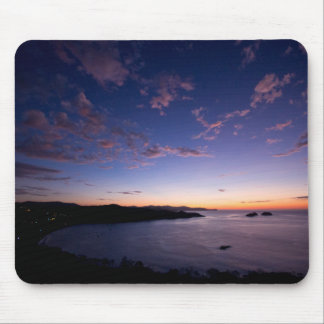 A Sunset Over The Ocean In Costa Rica Mouse Pad