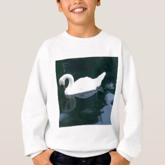 A Swan and Her Reflection Sweatshirt