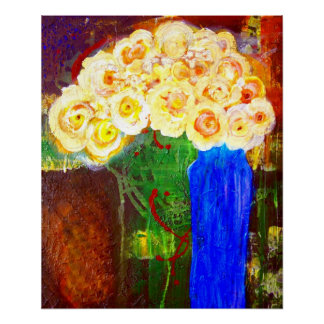A Sweet Afternoon Semi Abstract Fine Art Canvas Print