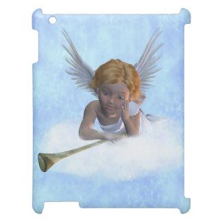 A sweet cherubic angel iPad mini cases