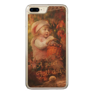 A sweet Fall day Carved iPhone 8 Plus/7 Plus Case