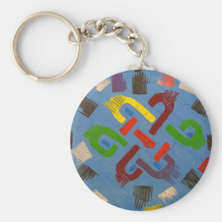 A symbol of success and good luck key ring