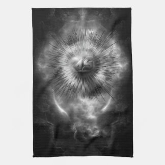 A-Synchronous Ethereal Clouds Kitchen Towel