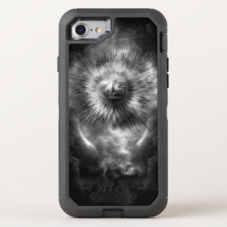 A-Synchronous Ethereal Clouds OtterBox Defender iPhone 8/7 Case