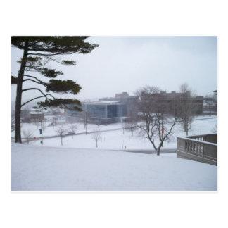 A Syracuse Winter Postcard