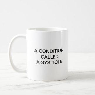A-SYS-TOLE COFFEE MUG