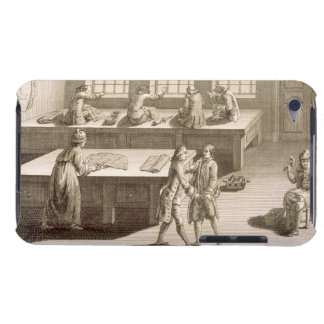 A tailor's workshop, from the 'Encyclopedie des Sc iPod Touch Cover