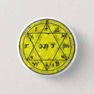 A Talisman To Preserve one's Health 3 Cm Round Badge