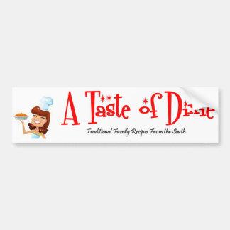 A Taste of Dixie Bumper Sticker