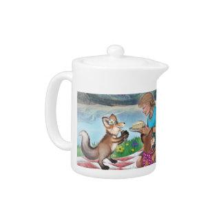 A Tea Party with Frieda, Tea & Cake tea pot