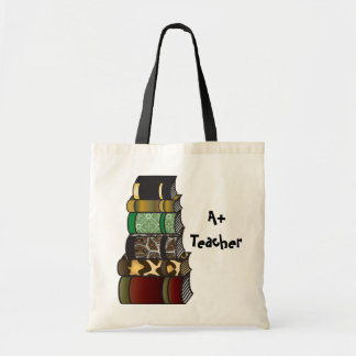 A+ Teacher Books Tote Bag