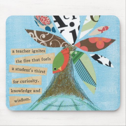 A teacher ignites the fire... Mouse Pad