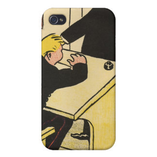 A teacher reprimands his pupil from Crimes iPhone 4 Cover