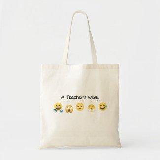 A Teacher's Week Budget Tote