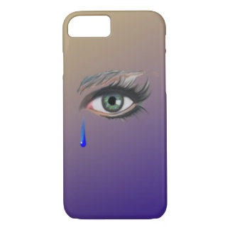 A tearful Eye iPhone 7 Case