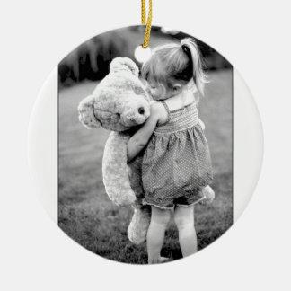 A Teddy Bear As Big As Me! Ceramic Ornament