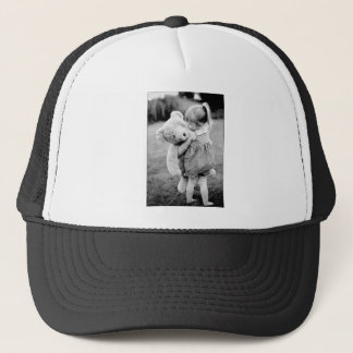 A Teddy Bear As Big As Me! Trucker Hat