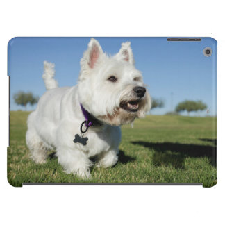 A Terrier playing out in the field Case For iPad Air