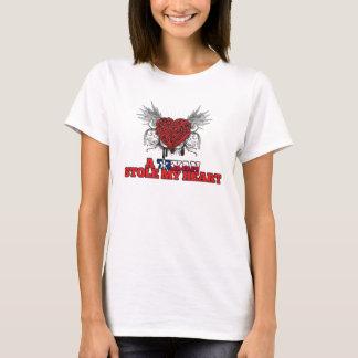 A Texan Stole my Heart T-Shirt