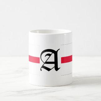 A-text English-Flag Basic White Mug
