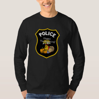 A Thanksgiving Police T-Shirt