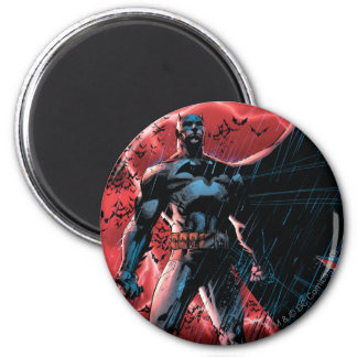 A Thousand Bats 6 Cm Round Magnet