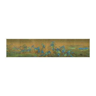 A Thousand Li of River and Mountains Wang Ximeng Canvas Print