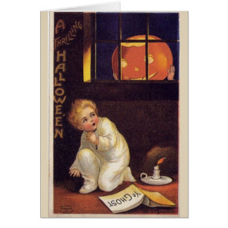 A Thrilling Halloween, Card
