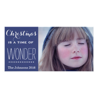 A Time of Wonder Blue Picture Card