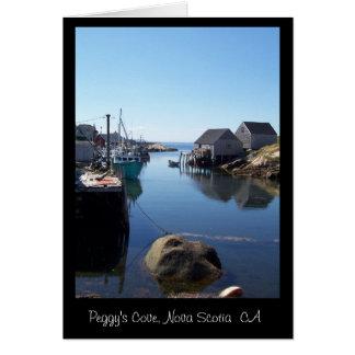A Tiny Cove in Nova Scotia, CA Card