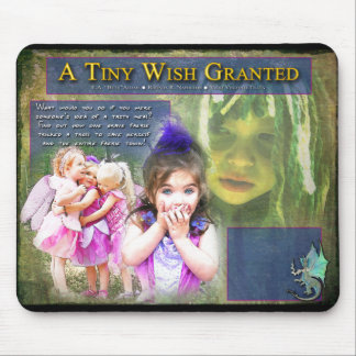 A Tiny Wish Granted Mouse Pad