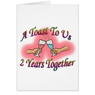A Toast To Us Card