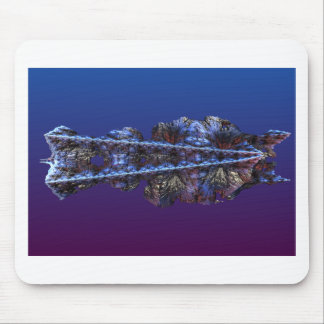 A touch of frost - landscape mouse pad