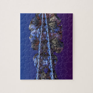 A touch of frost - portrait puzzle