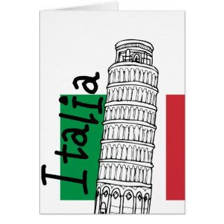 A Touch of Italy Note Card