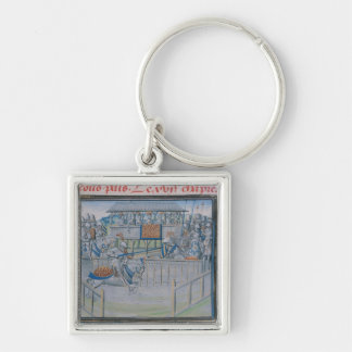 A Tournament in London: Jousting Key Chain