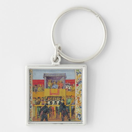 A Tournament of Hand-to-Hand Combat Keychain