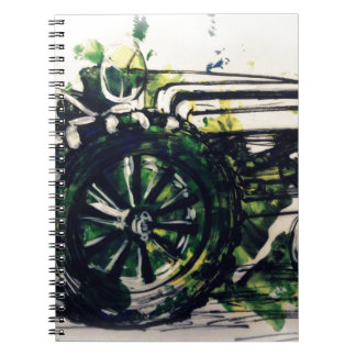 A Tractor! Spiral Notebook