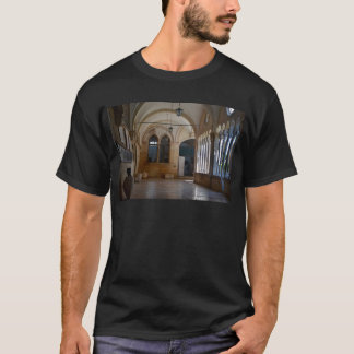 A Tranquil Monastery Cloister in Dubrovnik T-Shirt