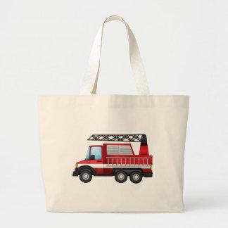 A transport truck jumbo tote bag