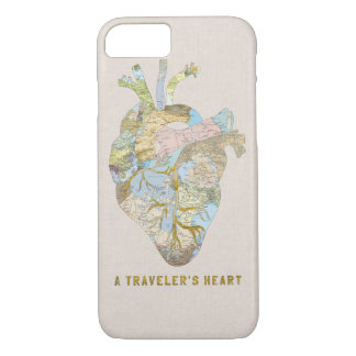 A Traveler's Heart iPhone 8/7 Case