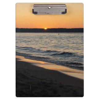 A Traverse Sunset Clipboard