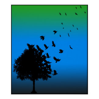 A Tree of Crows Poster