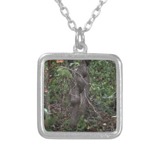 A Tree Silver Plated Necklace
