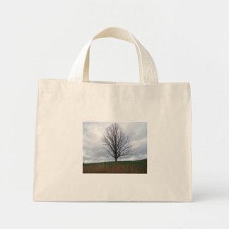 A Tree Stands Alone Mini Tote Bag